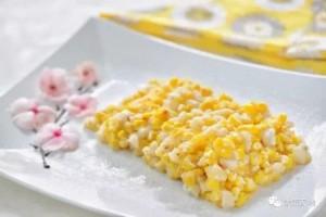酥香软糯的黄金玉米马蹄烙年夜饭必备小甜点