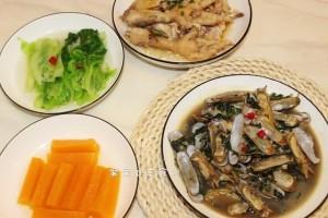 2个人的晚餐4个菜晒到网上网友这吃法一个月能瘦10斤