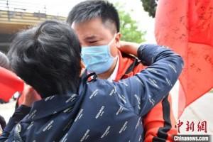 陕西最终一支帮助湖北医疗队完毕会集阻隔疗养